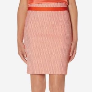 The Limited Pencil Skirt Chevron